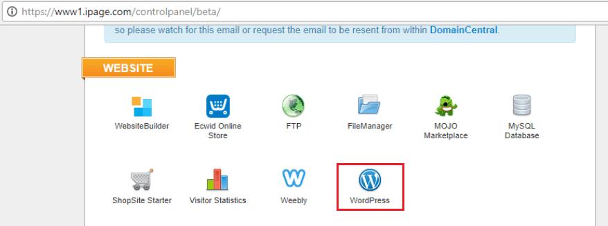 Инсталиране на WordPress блог